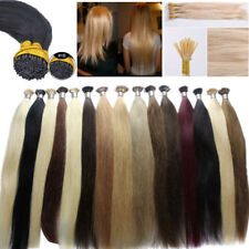 """16"""" Pre Bonded Keratin Fusion Stick I Tip Hair 100% Remy Human Hair Extensions"""