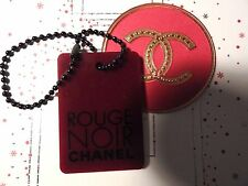 VIP Chanel Rouge Noir-pendant-charm + sticker