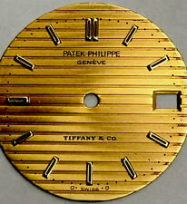 Gold 750 Dial Gold Authentic With Han Patek Philippe Rare Tiffany & Co Nautilus