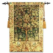 "jacquard tapestry fabric wall decoration painting William Morris ""Tree of Life"""