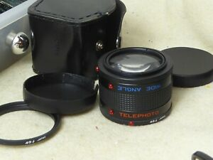 46MM OR 49MM  Lens For LENS Telephoto / Wide Angle  WITH CASE