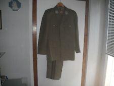 Tenue d'officier de spahi après guerre (+ képi)