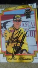 2002 Press Pass VIP Xplosive #X7 Matt Kenseth Racing Card Autographed!