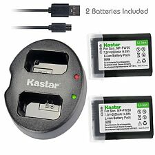 FW50 Battery&DUAL Charger for Sony  NEX-3, 3N, 5, 5N, 5R, 5T, 6, 7, C3, F3