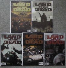 LAND OF THE DEAD #1-5 SET..RYALL/RODRIGUEZ.IDW 2005 1ST PRINT.VFN+.GEORGE ROMERO