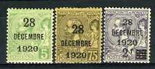 1921 MONACO N°48/50 TIMBRE POSTE PRINCESSE ANTOINETTE x