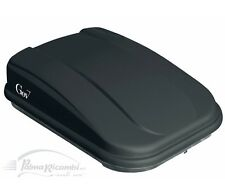 S9003 BAULE BOX PORTAPACCHI AUTO GEV SPAZIO 420 L. NERO OPACO ELEGANT DUAL SIDE