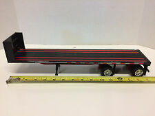 NewRay 1:32 15 inch Flatbed Semi Trailer only-LOOK