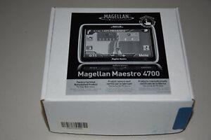 """Magellan Maestro 4700 Automotive Car GPS Navigator 4.7"""" Touch Screen Mountable.."""