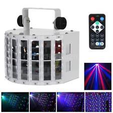 24W RGBW LED STAGE LIGHT DMX-512 Lighting Projector Party DJ Light 100-240V 0F63