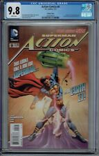 CGC 9.8 ACTION COMICS #9 RARE VARIANT 1ST CAL ELLIS APPEARANCE SUPERMAN EARTH-23