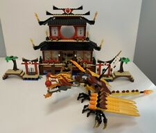 Lego Ninjago Ninja Fire Temple Dragon Set # 2507 NO MINIFIGS or INSTRUCTIONS