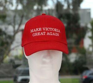 'Make Victoria Great Again' Cotton Cap