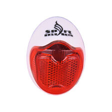 Bicycle Bike Rear Fender Safety Warnning Reflector Tail Cycling Warning Light JB