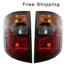 Tail Lamp Lens and Housing Set of 2 LH & RH Side Fits Honda Ridgeline 2006-2008