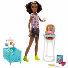 Mattel Barbie Baby-sitter Poupées Set de jeux Fhy99 À partir 3 An