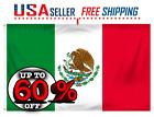 MEXICO BANDERA 3X5 FT NATIONAL COUNTRY FLAG PREMIUM QUALITY TEXAS SHIPPING