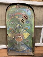 Vintage Poosh M Up 5 Games In One Tabletop Pin Ball Game Baseball Old Toy