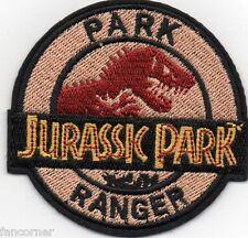 Jurassic park badge embroidered park Ranger jurassic park Ranger patch