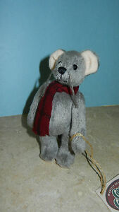 Ganz Cottage Collectibles Mouse ~ Squeak ~ Stuffed Plush by Mary Holstad MWT