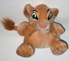 2 hand puppets  DISNEY puppet learning toy -lion king lion cub  applause & gift