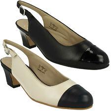 Mid Heel (1.5-3 in.) Wide (E) Slingbacks Shoes for Women