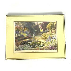Royal Table 4 Placemats English Country Gardens 16x12 Cork Backing