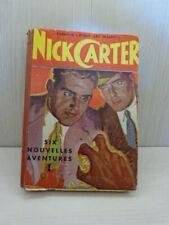 """nick carter collection"""" haut les mains"""" six nouvelles aventures (cai01)"""