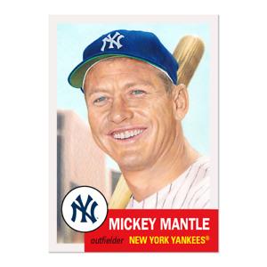 Topps MLB® Living Set® Card #407 - Mickey Mantle New York Yankees pre order