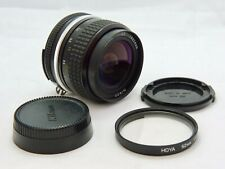 Nikon Nikkor 28mm f3.5 AI Lens with Front + Rear Caps and Filter