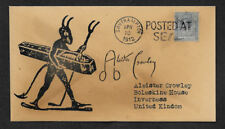 Aleister Crowley Autograph Reprint on Collector's Envelope *OP1180