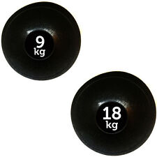 FXR Sport 9kg + 18kg NO Bounce SLAM BALL MMA Allenamento Fitness Training di forza