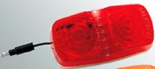 NEW RED LED Double Bull Clearance Marker Light Truck Trailer RV Boat