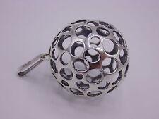 Klasse Anhänger Kugel / Golfball aus Silber 925 FS punziert