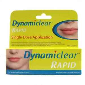 1 x Dynamiclear Rapid Single Dose Cold Sore Relief 0.5mL Twin Pack