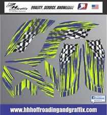 Graphic Kit for Yamaha Raptor 660 660R Decal Graphics Stickers