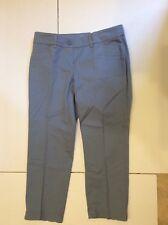 Ann Taylor LOFT Pant Womens Size 0 Petites Original Crop Straight Hip Thigh