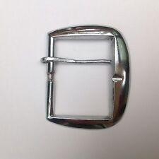 Vintage Open Frame Belt Buckle Leather Work  1 3/4