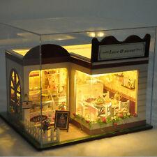 Lovely Sweet Cake Store Miniature Doll House DIY Handmade Craft Girls Toys GIFT