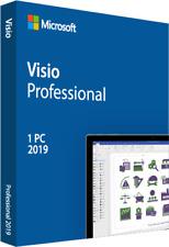 Microsoft Genuine Visio 2019 Professional Pro Retail Online Product Key License