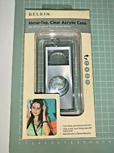 Metal-Top - Acrylic Case iPod Nano 2G [ by Belkin ] Grey, QTY: 1