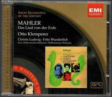 CD ALBUM / MALHER DAS LIED VON DER ERDE OTTO KLEMPERER / EMI CLASSICS
