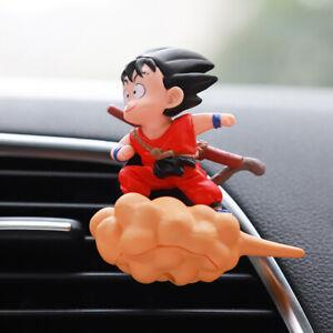 Goku Car Outlet Air Freshener Cute Cartoons Perfume Auto Interior Accessories