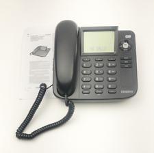 Uniden Desktop Phone Telephone Caller ID Speakerphone 1360 BK Black Tilt Display