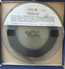 Reel to reel X 9 music original Tapes