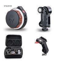 Tilta Nucleus-Nano Wireless Follow Focus Lens zoom Control with 15mm rod adapter