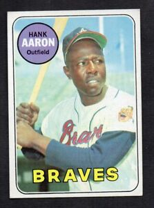 1969 Topps Hank Aaron  #100  EX  One Shipping*