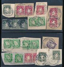 Irlanda 1922-40 buen pedazo.. 21 Sellos matasellos en