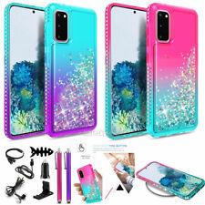 For Samsung Galaxy S20/S20 Plus/Ultra/Fe 5G Liquid Glitter Bling Case Accessory