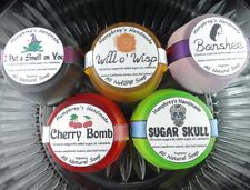 Lot of 5 Women's Sample Soaps, Handmade Glycerin Soap, Shave & Shampoo Sampler